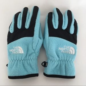 The North Face Fleece Gloves Girl's Sz S/P (7/8)